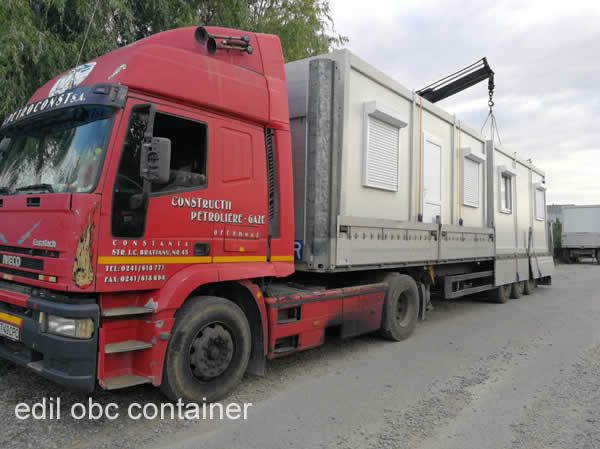 container livrare camion