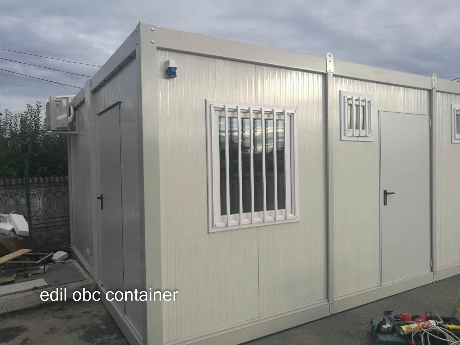 ansamblu container depozitare birou